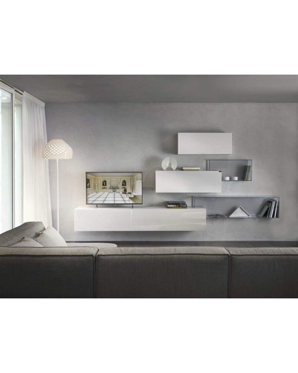 36e8 - Living composition in polished glass